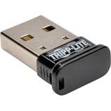 Tripp Lite Mini Bluetooth USB Adapter 4.0 Class 1 164ft Range 7 Devices