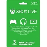 Microsoft 3-Month Xbox Live Gold Membership