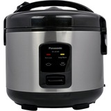 Panasonic 5 Cup (uncooked) Automatic Rice Cooker - Stainless Steel / Black - SR-JN105