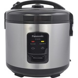 Panasonic 10 Cup (uncooked) Automatic Rice Cooker - Stainless Steel / Black - SR-JN185