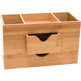 Lipper Bamboo Desk Organizer, 3-Tier