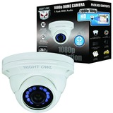 1080P HD ANALOG WHT AUDIO DOME CAMERA 100FT NGHT VSN 60FT CBL