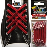 Shark Tank U-Lace Shoelaces - Scarlet