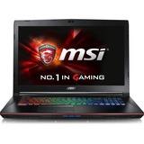 "MSI GE72VR Apache Pro-009 17.3"" Gaming Laptop Intel Core i7-6700HQ GTX1060 16GB DDR4 256GB SSD +1TB Steel Series Keyboard Win10 VR Ready"