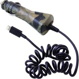 MOSSY OAK CAMO VEHICLE CHARGER LIGHTNING 2.1A