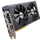 Sapphire NITRO+ Radeon RX 480 Graphic Card - 1.21 GHz Core - 1.31 GHz Boost Clock - 4 GB GDDR5 - PCI Express 3.0 - Dual Slot Space Required