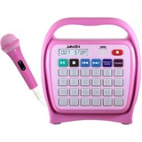 Hamilton Buhl Juke24 Portable Digital Jukebox with CD Player & Karaoke, Pink