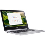 "Acer CB5-312T-K40U 13.3"" Touchscreen LCD Chromebook - MediaTek M8173C Quad-core (4 Core) 2.10 GHz - 4 GB LPDDR3 - 64 GB Flash Memory Capacity - Chrome OS - 1920 x 1080 - In-pl ...(more)"