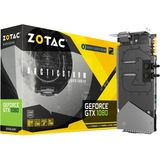 Zotac GeForce GTX 1080 Graphic Card - 1.63 GHz Core - 1.77 GHz Boost Clock - 8 GB GDDR5X - PCI Express 3.0 - Dual Slot Space Required
