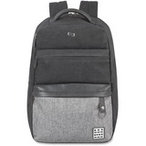 """Solo Urban Carrying Case (Backpack) for 15.6"""" Notebook - Gray"""