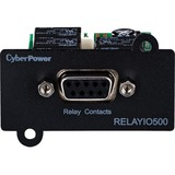 CyberPower RELAYIO500 Management Card, DB9 5-output 1-input contact closure, 3-year warranty