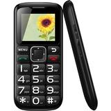 """MYEPADS Cellular Phone - 1.8"""" LCD 160 x 128 QQVGA - SIM-free - Black"""