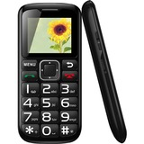 "MYEPADS Feature Phone - 1.8"" LCD 160 x 128 QQVGA - SIM-free - Black"