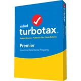 Intuit Turbotax Premier 2016 Federal and State Fed Efile PC/MAC Disc