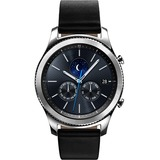 Samsung Gear S3 classic Smart Watch - Wrist - Accelerometer, Barometer, Gyro Sensor, Heart Rate Monitor, Ambient Light Sensor, Altimeter - Text Messaging, Email - Heart Rate, ...(more)