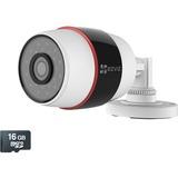 EZVIZ Husky HD 1080p Outdoor Wi-Fi Video Security Camera, 16GB MicroSD, Works with Alexa using IFTTT