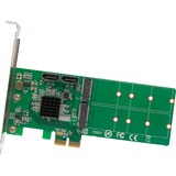 IO Crest M.2 to SATA to PCI-e x2 Hardware RAID Card