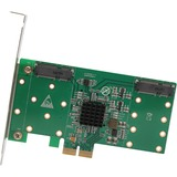 IO Crest 4 Port mSATA to PCI-e x2 Adapter with RAID