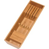 Lipper Bamboo Knife Block