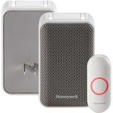 Honeywell 3 Series Plug-In Wireless Doorbell with Strobe Light & Push Button - RDWL313P