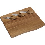 Lipper Acacia Serving Board with 3 Tools
