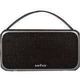 Veho 2.0 Speaker System - 20 W RMS - Portable - Battery Rechargeable - Wireless Speaker(s) - Gunmetal Gray