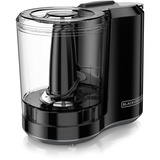 Black & Decker One-Touch 3 Cup Capacity Black Chopper