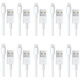 "4xem Lightning Cable for Apple 12.9"" iPad Pro/9.7"" iPad Pro/iPad Air/iPad Mini/iPad/iPhone/iPod Nano/iPod Touch - White"