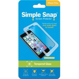 ReVamp Simple Snap Screen Protector (iPhone 7 Plus) (Tempered Glass) Transparent