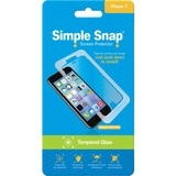 ReVamp Simple Snap Screen Protector (iPhone 7) (Tempered Glass) Transparent