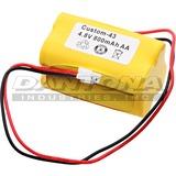 Dantona DOTCUSTOM43 CUSTOM-43 Rechargeable Replacement Battery, Black