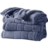 Jarden Channeled Microplush Heated Blanket