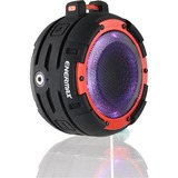 Enermax O'marine EAS03-BR Speaker System - 5 W RMS - Portable - Battery Rechargeable - Wireless Speaker(s) - Red