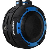 Enermax O'marine EAS03-BB Speaker System - 5 W RMS - Portable - Battery Rechargeable - Wireless Speaker(s) - Black, Blue