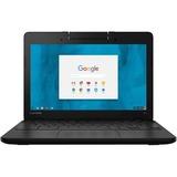 "Lenovo N23 80YS0000US 11.6"" LCD Chromebook - Intel Celeron N3060 Dual-core (2 Core) 1.60 GHz - 2 GB LPDDR4 - 16 GB Flash Memory - Chrome OS - 1366 x 768 - Black"