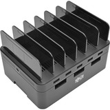 Tripp Lite 5-Port USB Fast Charging Station Hub/ Device Organizer 12V4A 48W