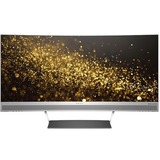 """HP ENVY 34 34"""" Curved Monitor Black & Silver"""