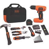 Black & Decker 8V MAX Cordless Lithium Drill Project Kit