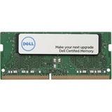 Dell 16GB DDR4 SDRAM Memory Module - 16 GB (1 x 16 GB) - DDR4-2400/PC4-19200 DDR4 SDRAM - 2400 MHz - CL17 - 1.20 V - Non-ECC - Unbuffered - 260-pin - SoDIMM