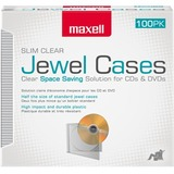 100PK CD-SLIM100CL CLEAR SLIM 5MM JEWEL CASES