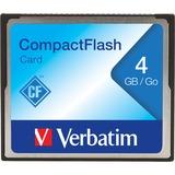 Verbatim 4GB CompactFlash Memory Card - TAA Compliant
