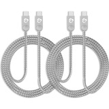 SIIG Zinc Alloy USB-C to USB-C Charging & Sync Braided Cable