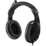 Adesso Xtream H5 Multimedia Headset with Built-in Microphone Black