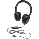 Califone 1017IMUSB NeoTech USB Headset with Califuff Braided Cord And Volume Control