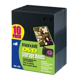 Maxell DVD-JC10 DVD Storage Boxes