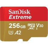 SanDisk Extreme 256 GB Class 10/UHS-I (U3) microSDXC