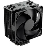 Cooler Master Hyper 212 Black Edition CPU Air Coolor, Silencio FP120 Fan, 4 CDC 2.0 Heatpipes, Anodized Gun-Metal Black, Brushed Nickel Fins for AMD Ryzen/Intel LGA1200/1151