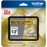 Brother TZe Premium Glitter Laminated Tape