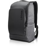 "Lenovo Legion Carrying Case (Backpack) for 15.6"" Lenovo Notebook - Gray, Black - Polyester - Shoulder Strap, Handle, Luggage Strap"