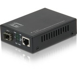 LevelOne RJ45 to SFP Gigabit PoE PD Media Converter